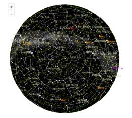 Tiện ích ngắm chòm sao thiên văn