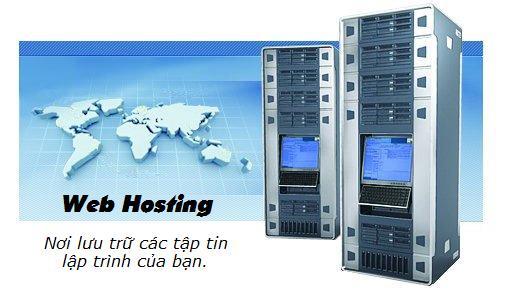 Hosting - Nơi lưu trữ tập tin nguồn của website